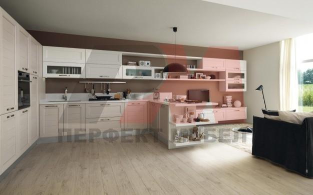 първокачествени бежови кухни по индивидуален проект