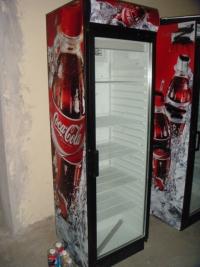 Вертикална витрина с 1 врата втора употреба