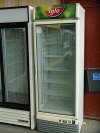 Нискотемпературна  витрина 67х62х197 см