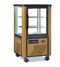 Сладкарска витрина със статични  рафтове