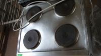 Печка с 4 ел. котлона и фурна