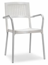 Бял дизайнерски стол
