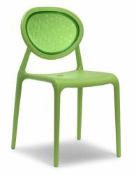 Светло зелен модерен стол