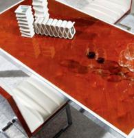 Модерен стол за трапезария 50/63/100см