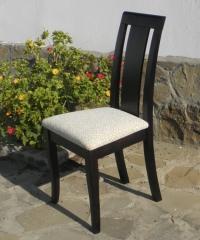 Салонен стол цвят венге