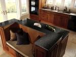 Правоъгълни кухненски плотове, изработени от мрамор