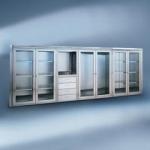 шкафове за кухня от инокс